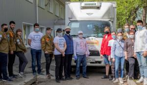 Змеиногорский район получил гуманитарную помощь.