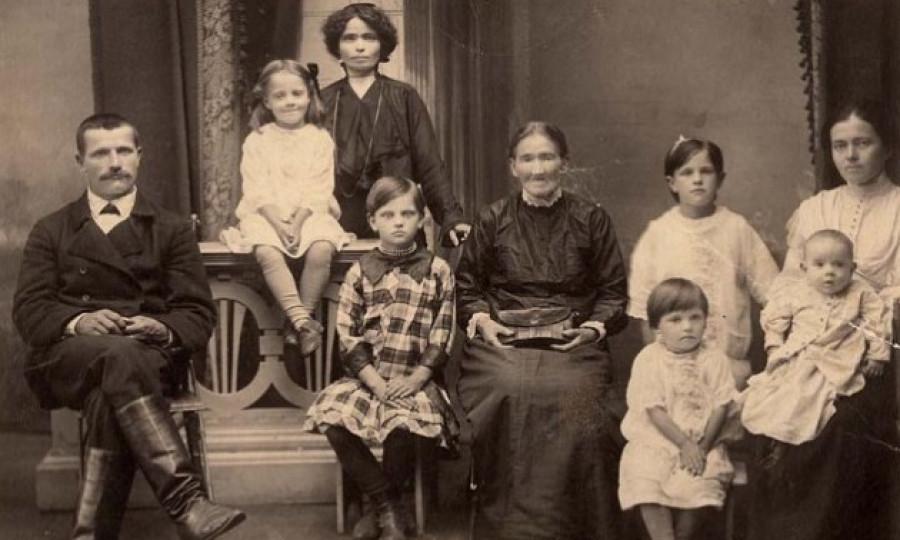 Семья, начало XX века.