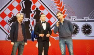 Международный гроссмейстер, старший тренер сборной России Александр Рязанцев.