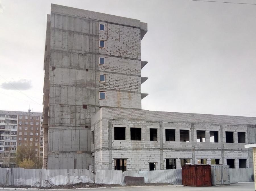 8-этажный апарт-комплекс в Барнауле на ул. Шумакова, 21.