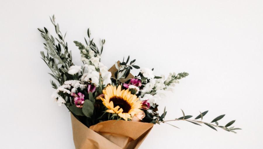 Цветы, букет, флористика.