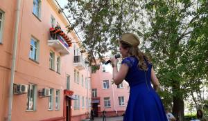 9 мая 2020 в Барнауле поздравили ветеранов ВОВ.