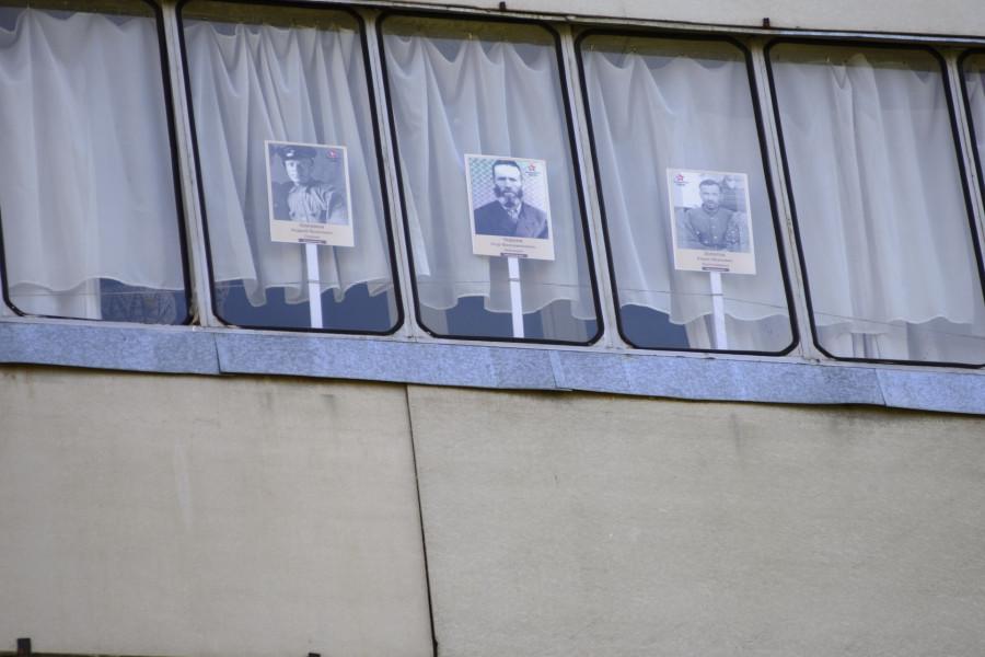 """Акция """"Окна памяти - окна победы"""" 9 мая 2020 года."""