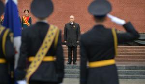 Владимир Путин поздравил россиян с Днем Победы 2020.