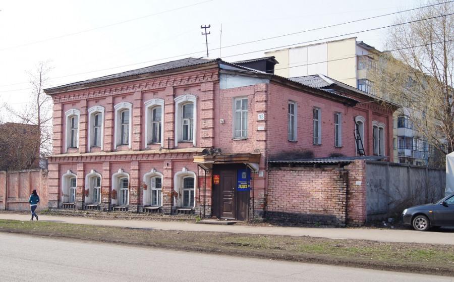 Дом Бильмана в Бийске.