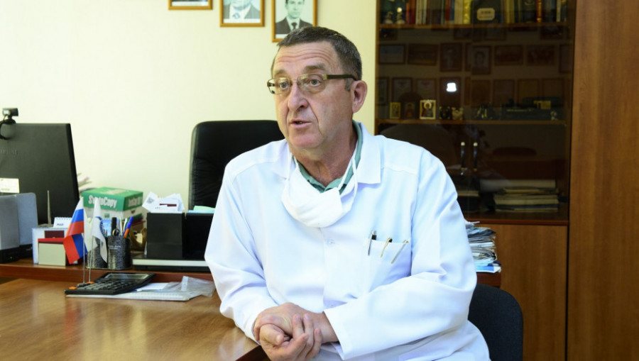 Андрей Коломиец, главный врач клинической больницы № 11.