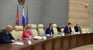 Встреча с застройщиками в администрации Барнаула.