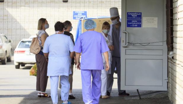 Краевая клиническая больница скорой медицинской помощи.