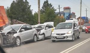 Авария на Павловском тракте.