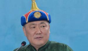 Глава Тувы Шолбан Кара-оол.