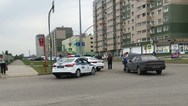 ДТП 25 мая в Барнауле.