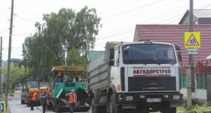 Ремонт участка переулка Ядринцева.