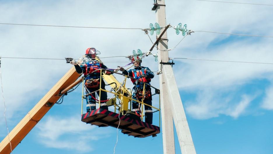 Работы по технологическому присоединению к электросетям.