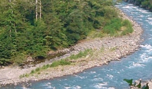 Недавно река называлась Херота.
