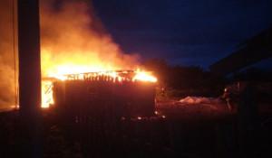 Пожар в Новоалтайске 30 мая 2020 года.