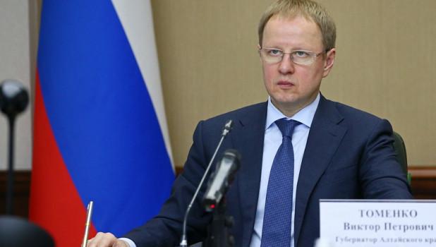 Губернатор Алтайского края Виктор Томенко.