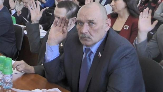 Депутат Рубцовского горсовета Игорь Раченков.