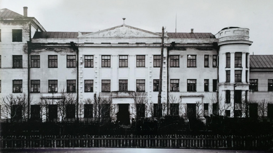 Поликлиника №2, исторические фото.