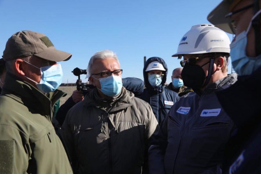 Александр Усс прибыл в Норильск на место разлива нефтепродуктов.