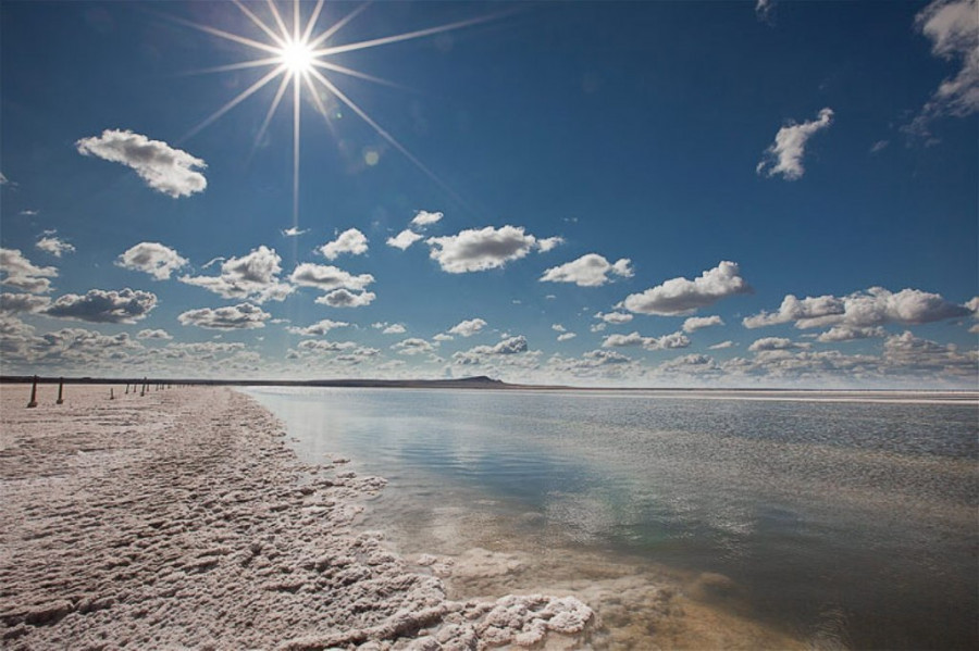 Озеро Баскунчак.