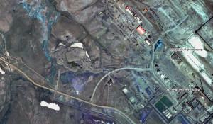 Разлив топлива в Норильске.