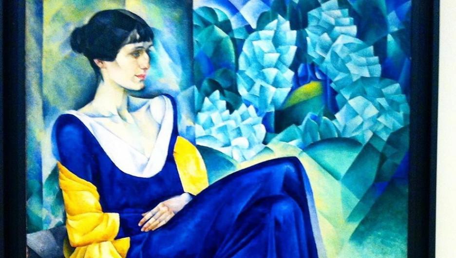Анна Ахматова. Портрет.