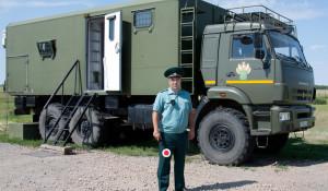 На границе Алтайского края. Таможня.