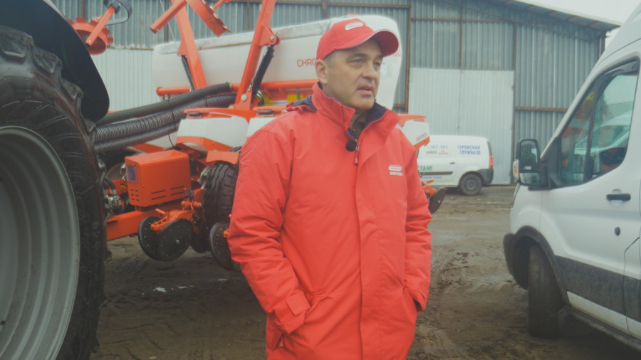 Руководитель хозяйства «Боровое» Баевского района Алтайского края Эдуард Вайгандт