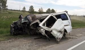 Авария в Черепановском районе.