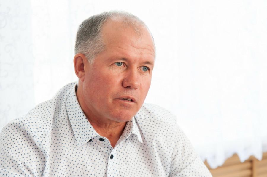 """Сергей Бенслер, директор сельхозпредприятия """"Колос""""."""