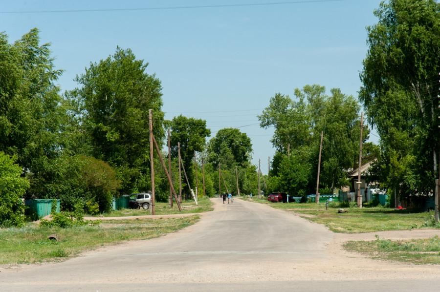 Село Покровка Локтевского района.