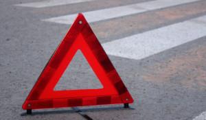 ДТП. Аварийный знак. Пешеходный переход.