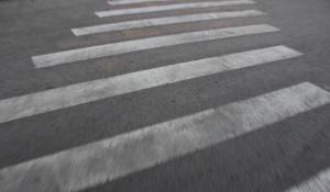 Пешеходный переход, зебра.