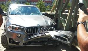 ДТП с BMW.