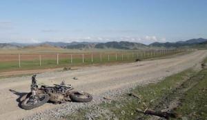 Смертельное ДТП с мотоциклом в Республике Алтай.