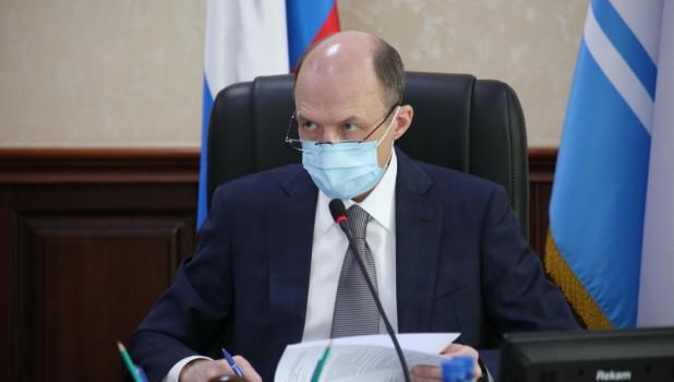 Глава Алтая Олег Хорохордин.