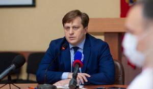 Дмитрий Попов, министр здравоохранения Алтайского края