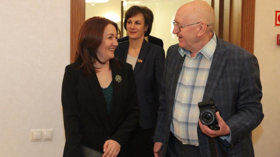 Константин Емешин и депутат Госдумы Наталья Кувшинова.
