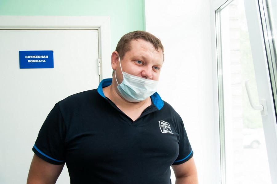 Егор Евсеев, врач анестезиолог-реаниматолог.