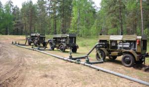 Трубопровод военной модификации.