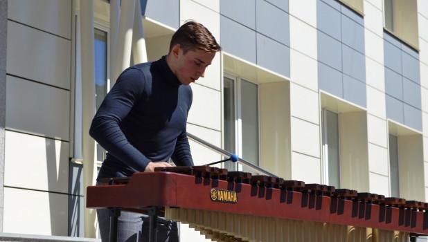 Маримба в Алтайском музыкальном колледже