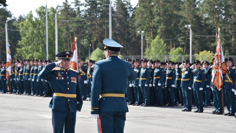 Парад Победы в ЗАТО Сибирский, 24 июня 2020 года.