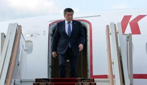 Сооронбай Жээнбеков, президент Киргизии.