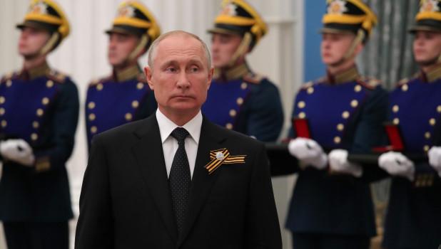 Владимир Путин на церемонии вручения Государственных премий РФ.