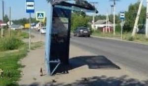 Остановка после ДТП в Барнауле.
