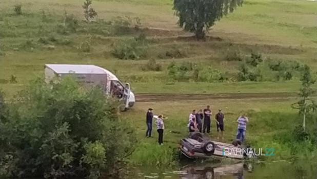 ДТП на реке Ляпихе.