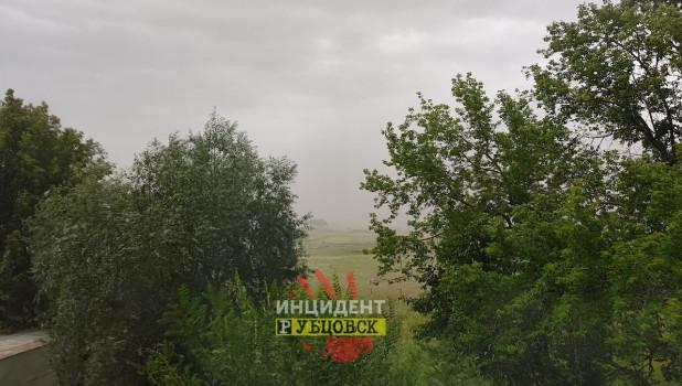 Буря в Рубцовске.