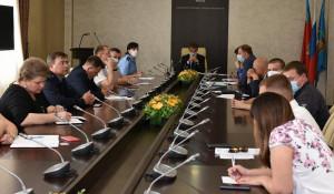 Заседание рабочей группы по завершению строительства многоквартирных домов.