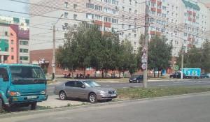 Нелогичные знаки в Барнауле.