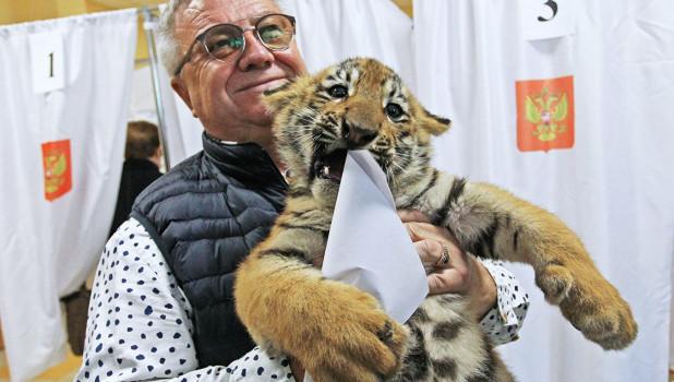 Директор барнаульского зоопарка Сергей Писарев